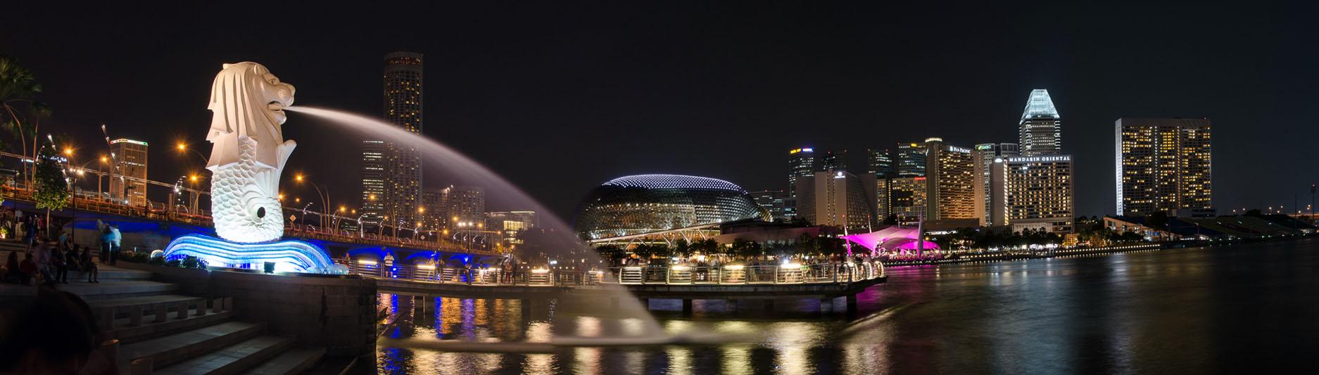 Panorama Marina Bay, Singapore